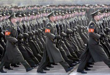 obowiązki żołnierza do budynku oraz w szeregach Karty