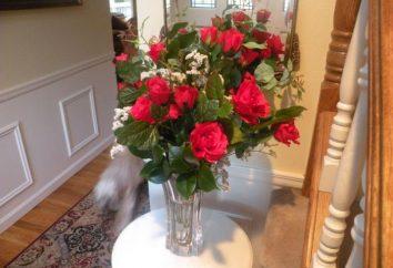In welcher Art von Wasser zu setzen Rosen, so blieben sie länger schön und frisch?