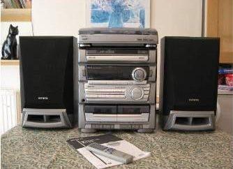 Aiwa – centro de música para os verdadeiros audiófilos