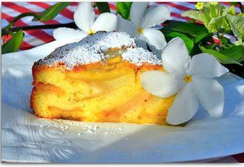 Pastel con crema agria. recetas