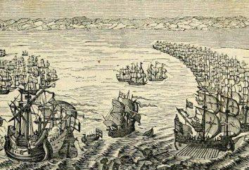 La sconfitta della Armada spagnola: il luogo, la data, le sorti della battaglia