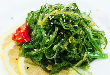 Algues Chuka. Nécessaire pour des aliments sains