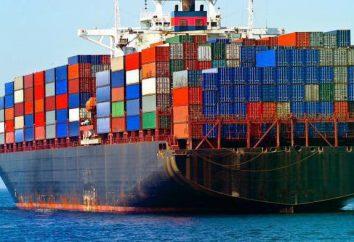 navi da carico e la loro classificazione