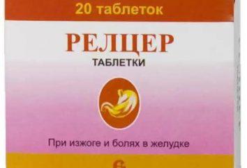 """Lek """"Reltser"""": instrukcja obsługi, opis leku, streszczenie"""
