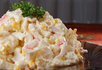 Salade de riz au crabe populaire