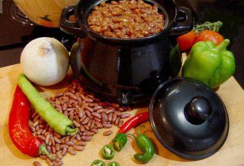 Hearty cena – il cibo nel piatto (al forno)