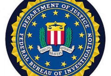 FBI (FBI): transcription des abréviations et des domaines d'intérêt