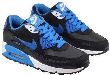 """Nowe modele obuwia """"Nike"""": przegląd, opis i recenzje"""