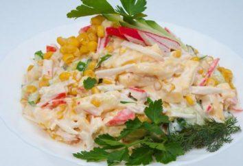 Salade d'oranges et de bâtonnets de crabe – recettes originales