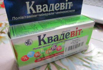 """El medicamento """"Kvadevit"""": instrucciones de uso, descripción, comentarios"""