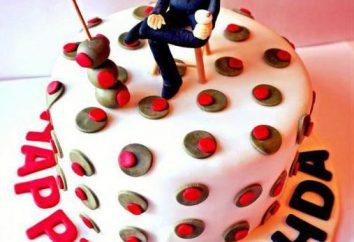torte alla crema per gli uomini: le raccomandazioni, le ricette