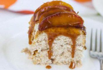 Gâteau aux pommes caramélisées: secrets de cuisine