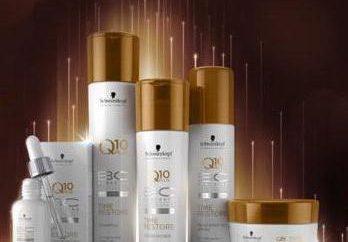Schwarzkopf Professional – produits cosmétiques pour le traitement et la récupération des cheveux.