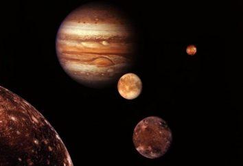 Les satellites des planètes. Y at-il la vie sur Titan?