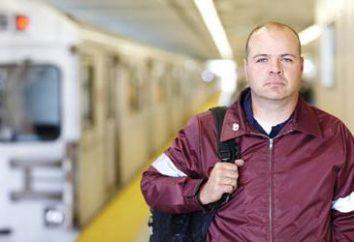 Als spezialisierte er Maschinist unterirdische elektrische Züge