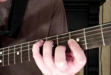 Accord gm auf der Gitarre. Wie stelle ich den Akkord ein?
