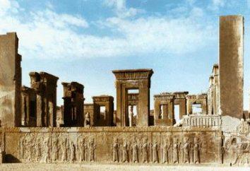 Empire perse: l'histoire d'origine, la vie et la culture