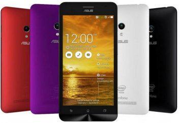 Smartphone Asus Zenfone C ZC451CG: opinie, opisy, specyfikacje