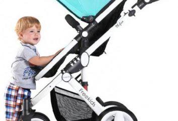 Freekids – carrinho de criança design original conversível