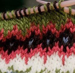 Como a tricotar padrões de jacquard e crochê? maneiras simples