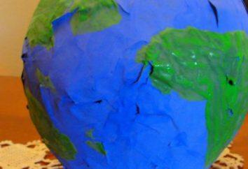 Wie kann man ein Modell der Erde machen? Modell der Erdoberfläche