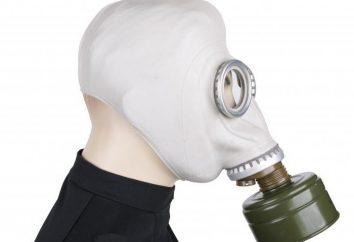 Máscaras GP-5: Descrição e aplicação