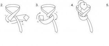 Jak zawiązać węzeł krawata (patrz zdjęcie). Jak zawiązać krawat podwójny węzeł