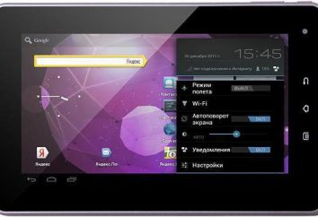 Tablet TeXet TM-7025: oprogramowanie układowe, specyfikacje, recenzje