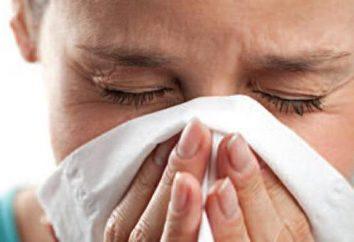 Przeziębieniach zjawiska: objawy kataru