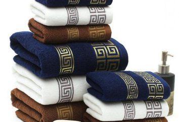 serviettes en bambou: commentaires, comparaisons