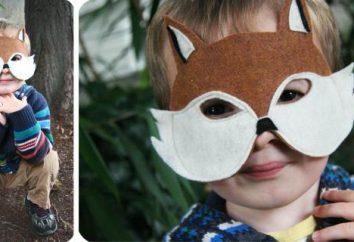 Prepare atributos para o baile de máscaras. Como fazer uma máscara de papelão?