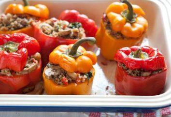 Pepe cotto nel forno: ricette di cucina