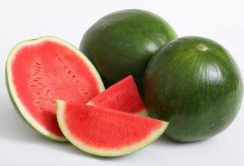 Jaki cud-berry ten słodki arbuz! Wartość energetyczna i korzyści