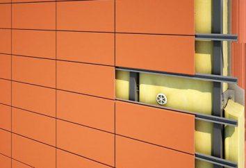 Installation des façades ventilées: instruction