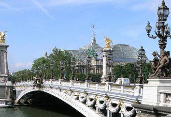 Un bel monumento architettonico, dal nome di Alexander 3, – ponte di Parigi