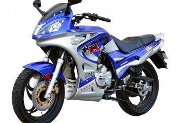 Chińskie motocykle 250 CC: opinie. Top 250 chińskich motocykli kostki