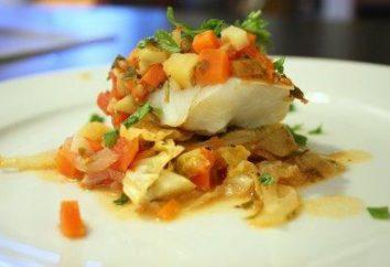 La mayoría de las recetas deliciosas cueza bacalao en el horno