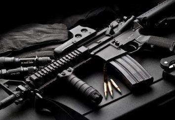 Amerykański karabin szturmowy karabin M4: zdjęcia i charakterystyka broni