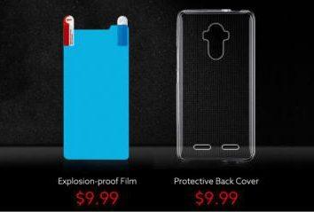 Pre-ordenar smortfona BLUBOO D1 con doble cámara se iniciará día 24 Abril precio de $ 9,99 y regalos por valor de $ 20