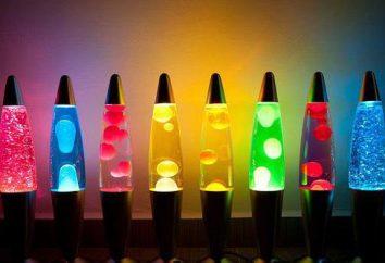 lampa lawa z rękami improwizowany