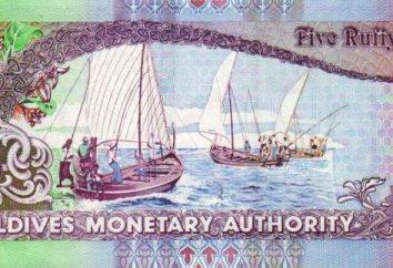 Moeda das Maldivas. O curso ea denominação