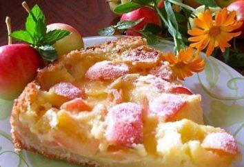 "pastel de manzana deliciosa ""Tsvetaeva"": Receta"