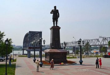 Nowosybirsk. Pomnik Aleksandra III: Opis, historia, kontrowersje