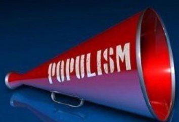 Populista slogan – che cosa è questo?