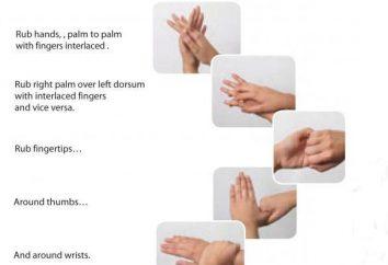 medizinisches Personal Händewaschen Hygiene: Geld Regeln