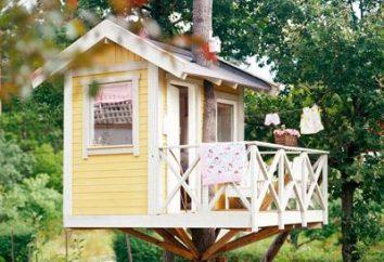 Ucieleśnieniem marzenie z dzieciństwa: dom na drzewie