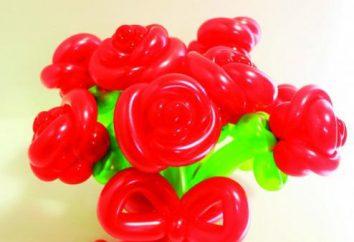 Wie eine Blume von Wurstbällchen machen? Ideen für Blumen komozitsy