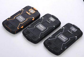 Chroniony telefon dla kart SIM z 2 baterii o dużej pojemności (opinia)