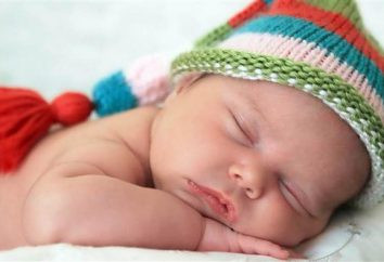 Por que uma criança geme em seu sono?