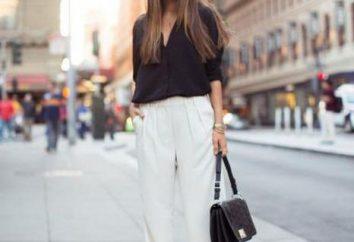 Spodnie damskie: Wzór dla początkujących (krok po kroku)
